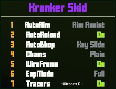 Krunker Skid cheat